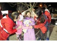 Acıpayam'da çocuklar Kızılay gönüllüleriyle depremi unuttu