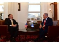 ABD Dışişleri Bakanı Pompeo, İsrail Başbakanı Netanyahu ile görüştü