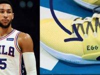 NBA yıldızı 'Yumurta Çocuk' ayakkabılarıyla sahaya çıktı