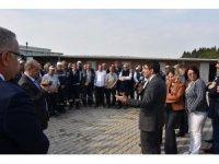 Başkan Çelik belediye şantiyelerinde işçilerle buluştu