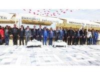 Burhaniye'de Melih Pabuççuoğlu Bulvarı Rekreasyon Alanı hizmete girdi.