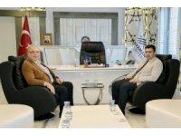 Başsavcı Çevik Başkan Kutlu ile bir araya geldi