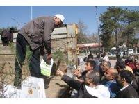 Elazığ'da 2 bin 250 fidan dağıtıldı