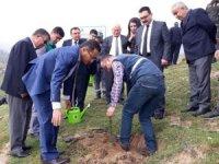 """Alaşehir'de """"Adalet Ormanı"""" ağaçlandırıldı"""