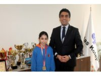 İhlas Koleji öğrencisi Elif Kömürcü judoda İstanbul şampiyonu