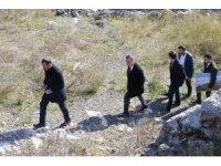 Dr. Ömer Selim Alan, Millet Bahçesi projesini yerinde tanıttı
