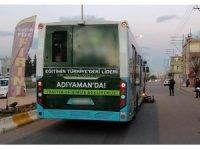 Belediye otobüsüyle çarpışan bisikletin sürücüsü öldü