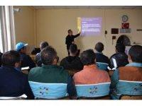 Kocasinan'da iş sağlığı ve güvenliği eğitimi