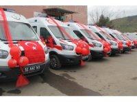 Ordu'ya 6 yeni ambulans