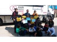 İlkokul öğrencilerinden 'Kızılay'ın Kan Bağışına' Destek