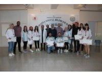 Aşçılık öğrencilerinden 12 madalya