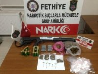 Fethiye uyuşturucu operasyonu: 1 tutuklama