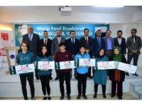 Kitap okuma yarışmasının kazananları ödüllendirildi