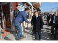 Vali Öksüz Digor'da incelemelerde bulundu