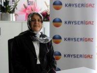 Türkiye'ye enerji veren kadın Kayserigaz'dan