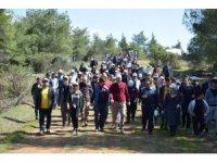Kilis'te 180 yıl doğa yürüyüşü düzenlendi