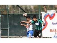 TFF 2. Lig: Ankara Demirspor: 0  - Sakaryaspor A.Ş.: 0