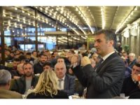 İYİ Parti Yomra Belediye Başkan adayı Bıyık gençlerle buluştu