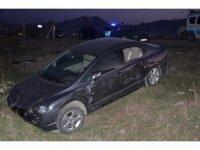 Elbistan'da tır ile otomobil çarpıştı: 5'i çocuk 6 yaralı