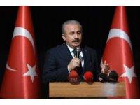 """TBMM Başkanı Şentop: """"Türkiye dışarıdan hizaya sokulacak bir ülke değil"""""""
