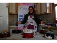 Eğitim aldı, yaptığı pastalarla eşinin pastanesindeki maliyetleri yüzde 60 azalttı