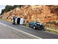 Adıyaman'da aynı bölgede iki kaza: 21 yaralı