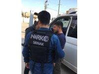 Cizre'de 105 polisle uyuşturucu denetimi