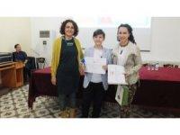 Burhaniyeli Umut, Tübitak Proje Yarışması için Bursa'ya gitti