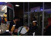 Karayolunda buzlanma zincirleme kaza getirdi:11 yaralı