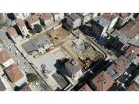 Kartal'da çöken binanın yerine yapılacak yeni binanın temeli atıldı