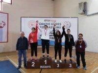 Malatyalı güreşçi Türkiye üçüncüsü oldu