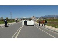 Şelale yolunda 50 metre arayla iki trafik kazası: 2 yaralı