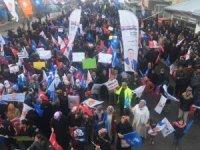 AK Parti'li Kayatürk'ün seçim çalışması