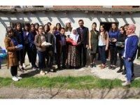 Bismil'deki öğrencilerden yaşlılara ziyaret