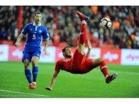 2020 UEFA Avrupa Futbol Şampiyonası: Türkiye: 2 - Moldova: 0 (İlk yarı)