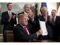 """ABD Başkanı Trump: """"ABD, her zaman İsrail'in yanında olmaya devam edecektir"""""""