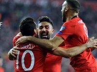 Türkiye - Moldova: 4-0... Maçtan muhteşem kareler
