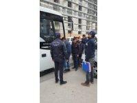Göçmenlerin kaçak yolculuğu Ankara'da sona erdi