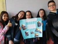 Ortaokul öğrencilerinden Edirne'ye kardeşlik eli