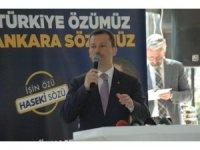AK Parti'li Özhaseki, Birlik Vakfı kahvaltı toplantısına katıldı
