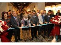 Resim ve kaligrafi sergisi açıldı