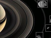 Satürn uydularına halkalarından renk veriyor!