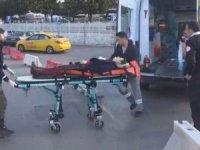 Yolda yürüyen kadını vurup, intihara kalkıştı!