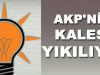 AKP'NİN KALESİ YIKILIYOR