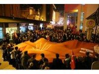 Artvin'de CHP zaferini kutluyor