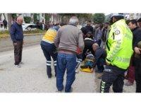 Bucak'ta trafik kazası: 1 yaralı