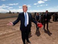 Trump Meksika sınırını ziyaret etti!