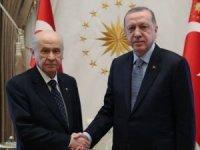 Erdoğan ve Bahçeli görüştü! Görüşme sonrası bir açıklama yapılamdı