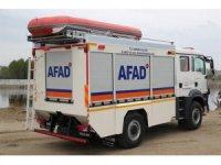 Sel ve afetlere müdahale edecek özel araç tanıtıldı
