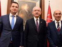 Kılıçdaroğlu, Tunç Soyer ile görüştü
